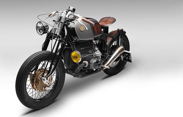 BMW R75/5 Nerboruta Custom Front view
