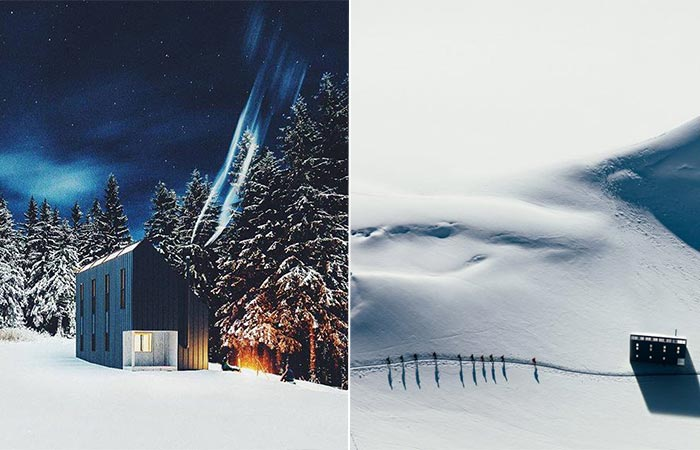 cabins at remote locations