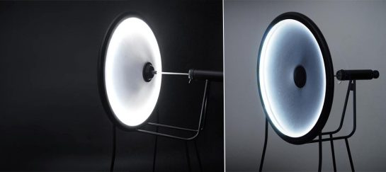 Black Hole Lamp | By Curve ID