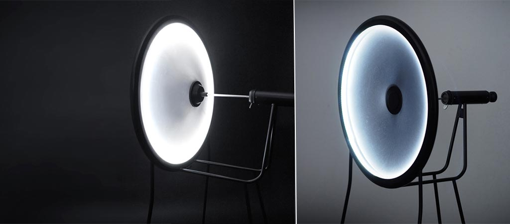 Black Hole Lamp From Curve ID