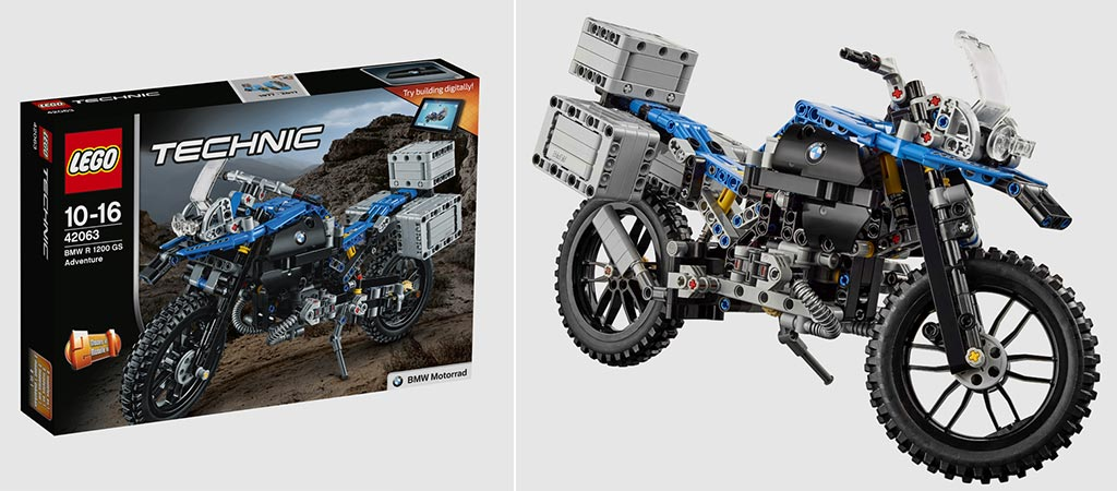 lego reveals their 603 piece bmw r 1200 gs. Black Bedroom Furniture Sets. Home Design Ideas