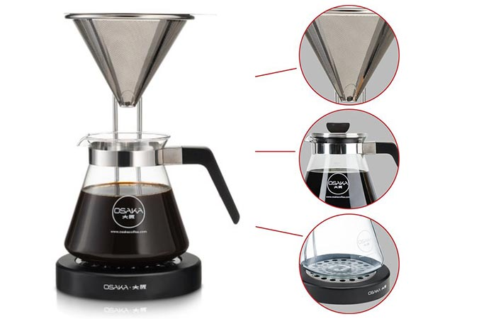 features of Osaka Pour-Over Coffee Dripper