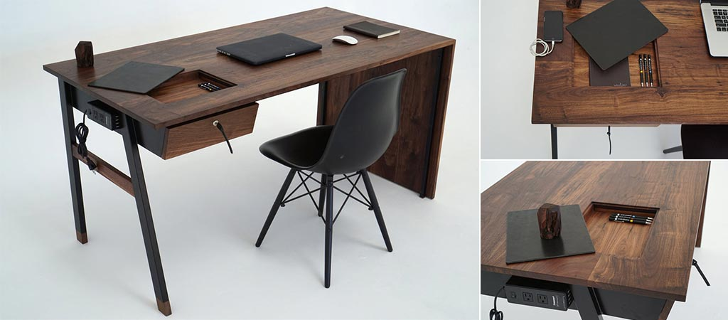 Sean Woolsey's Waterfall Desk