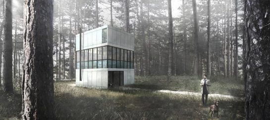 Villa Clessidra | A Three-Level Masterpiece In A Dutch Pine Forest