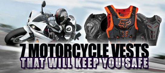 7 Motorcycle Vests That Will Keep You Safe