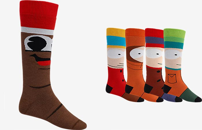 Burton X South Park Mr. Hankey Party Sock and Weekend Twin Sock Pack