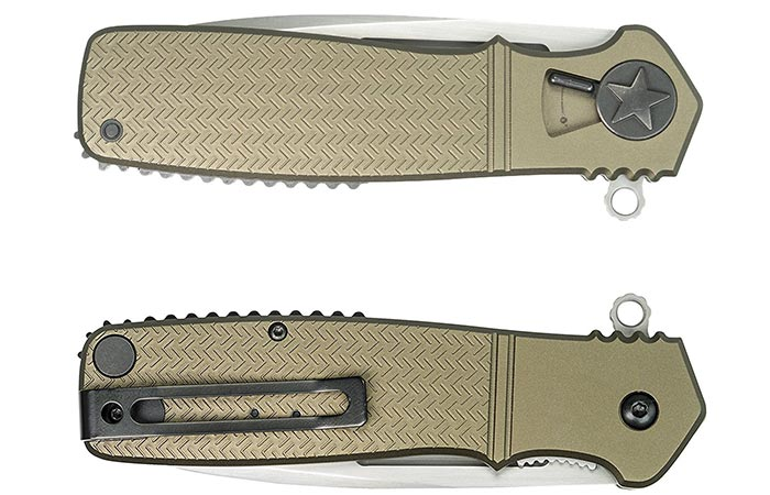 CRKT Homefront Pocket Knife front and back view