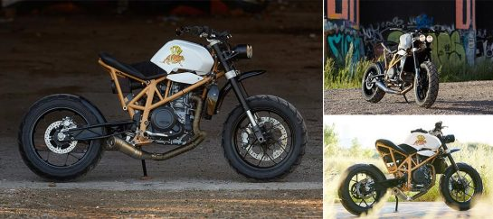 Daisy Duke KTM 690 | By Federal Moto
