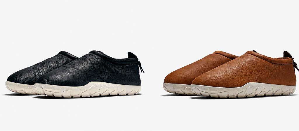 Nike Air Moc Bomber in Cognac and Black