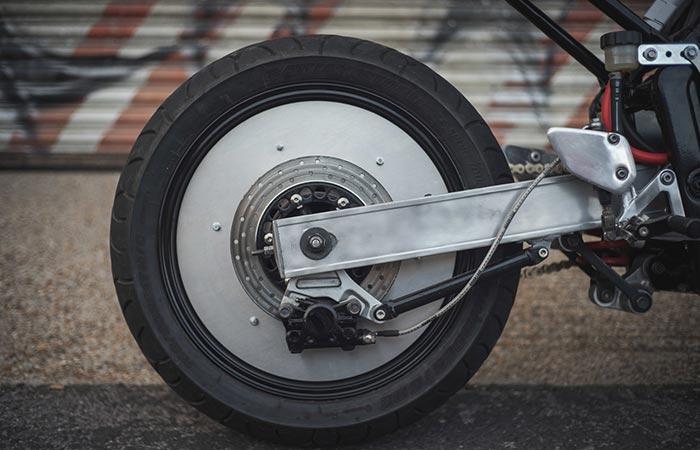 Phaser Type 1 Akira-inspired disc wheel