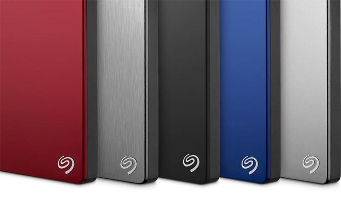 five colors of Seagate Duet