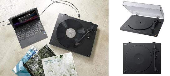 Sony PSHX500 Hi-Res USB Turntable