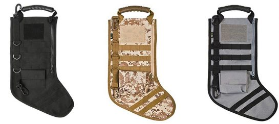 Tactical Christmas Stocking With Molle Gear