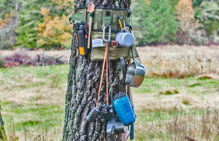 Picture of the Tree Hugger with gear
