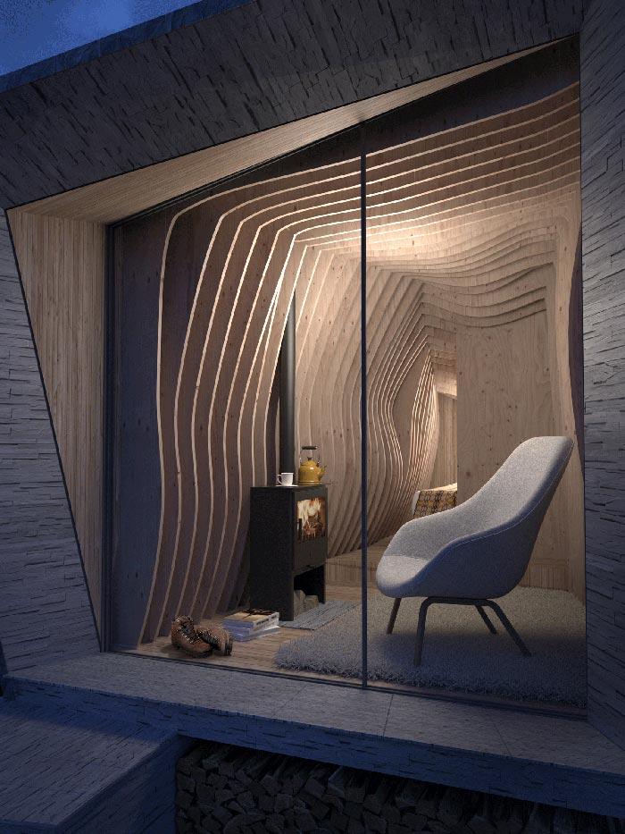 a look inside Arthur's Cave hotel