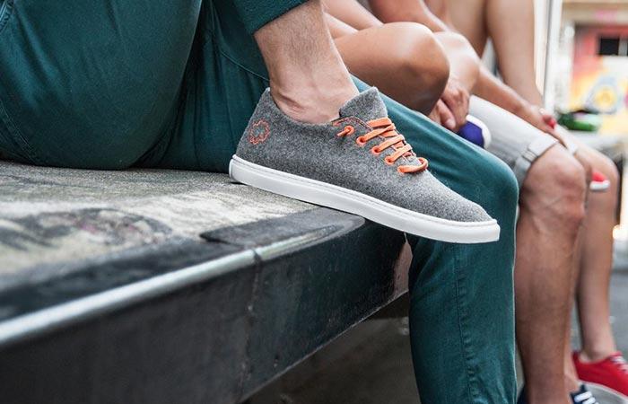 Grey Baabuk sneakers