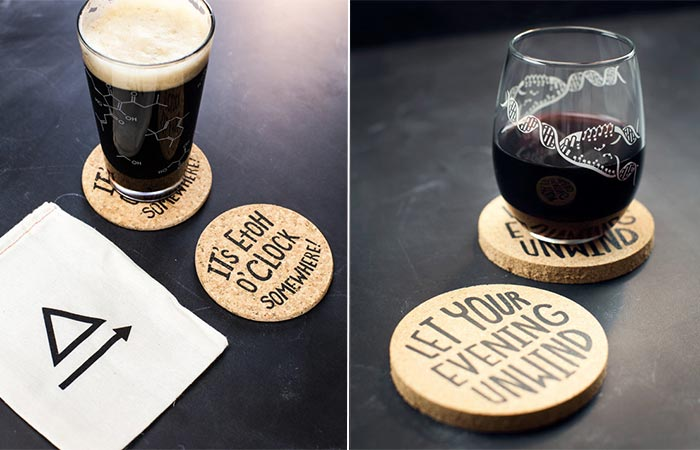 Cognitive Surplus wine and beer glasses