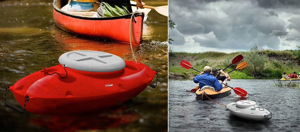 CreekKooler | Floating Kayak Cooler
