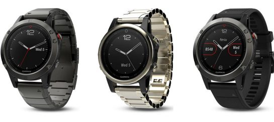 Garmin Fenix 5 Smartwatch Series