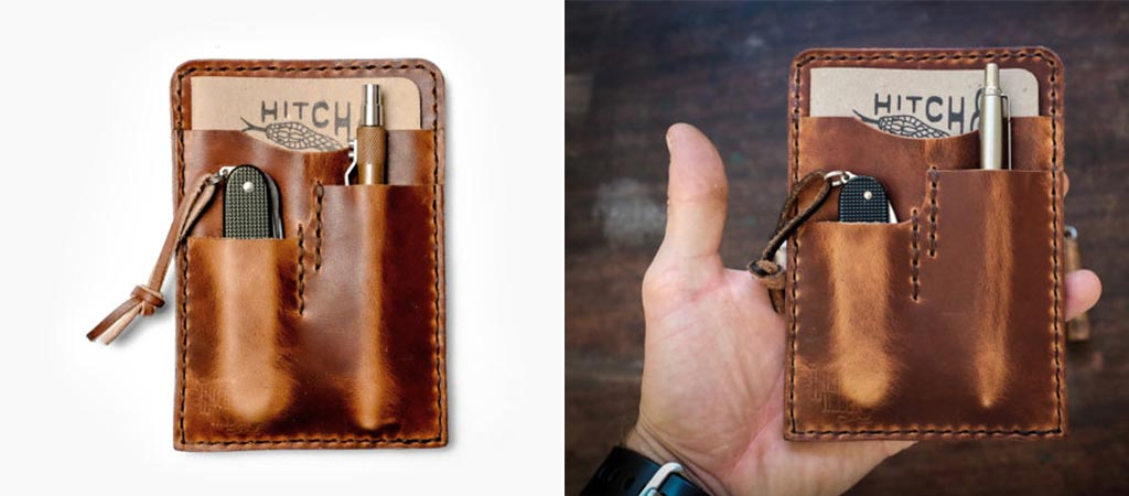 Hitch And Timber Leather EDC Notebook Holder