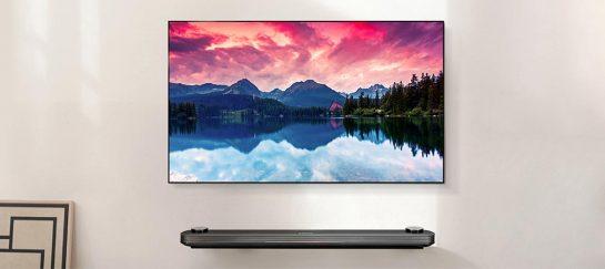 LG W7 OLED   Super-Thin Wallpaper TV