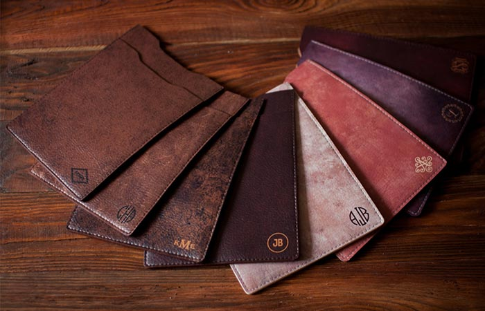 Lemberg Leather iPad case