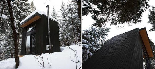 Micro Cabin | By Larocque Elder Architects