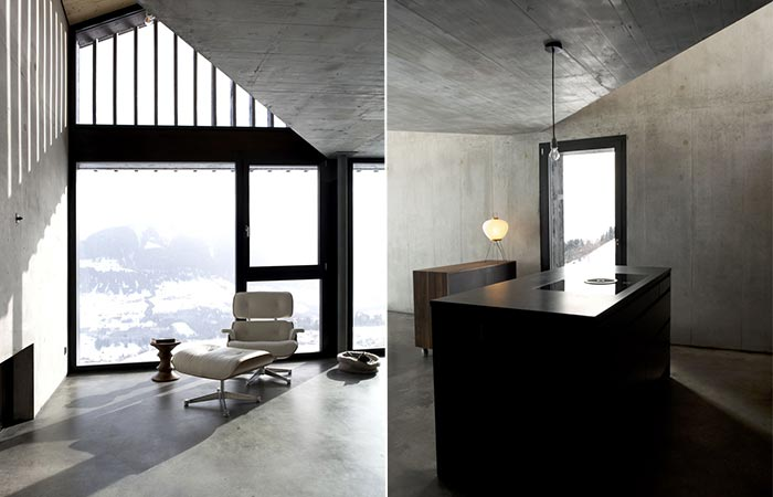 two images of Morissen House
