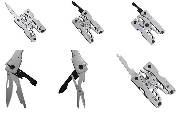 Different tools that the Sync II has to offer