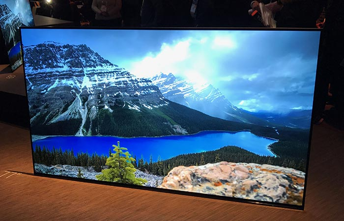 Sony Bravia at CES