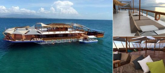 TawHai   The Floating Bar In Lakawon Island