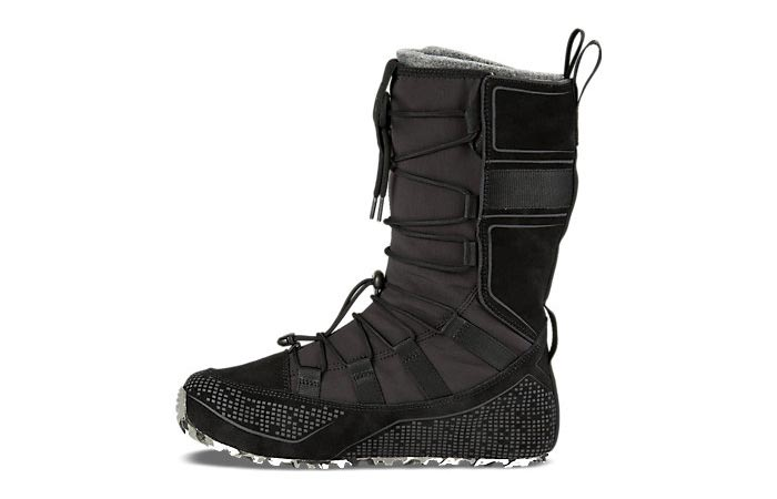 a snow boot from the side