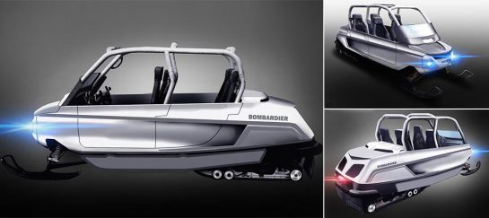 Whitefox Snowmobile | By Bombadier Recreational Products