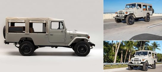1981 Toyota Land Cruiser FJ45 Troopy