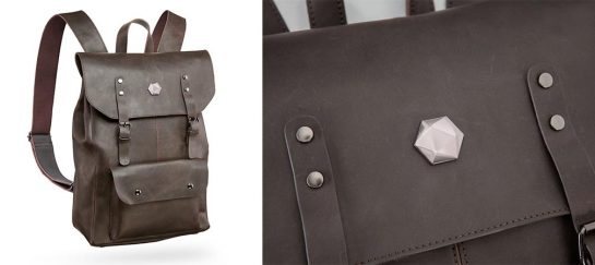 Adventurer's Leather Backpack Of Holding