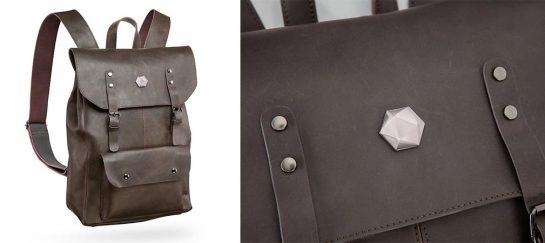 Adventurer's Leather Backpack Of Holding