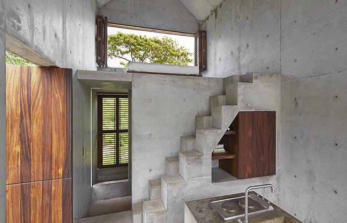 the interior of Casa Tiny