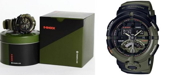 Chari & Co G-Shock Limited Edition