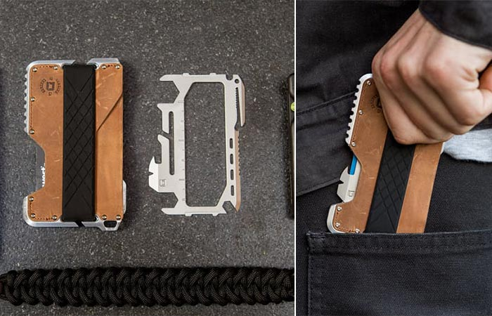 two images of Dango Tactical Wallet