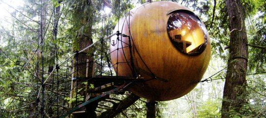 Free Spirit Spheres In British Columbia