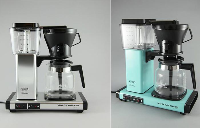 two images of Moccamaster