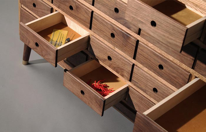 Tempel Workbench drawers