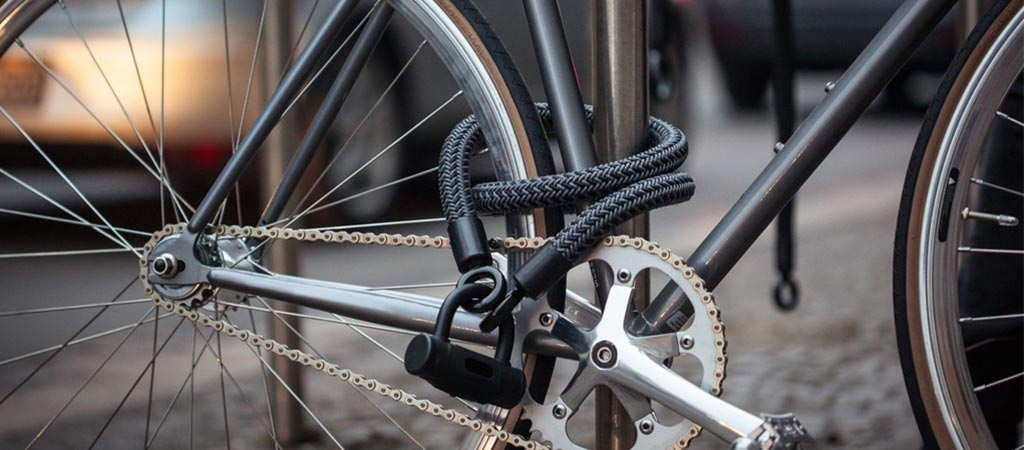 Tex-Lock on a bicycle