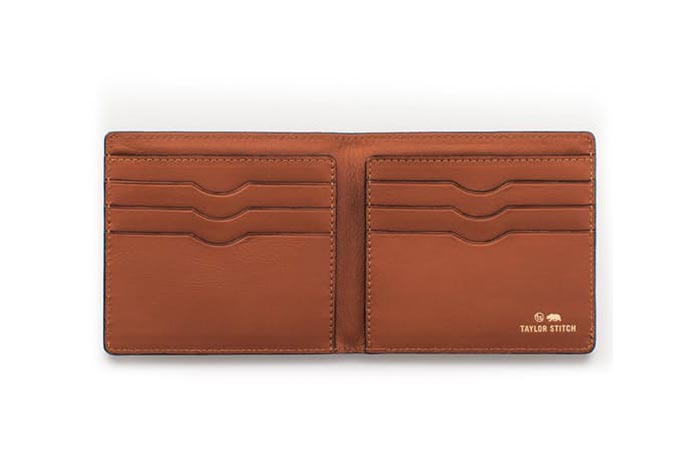 The Minimalist Billfold unfolded