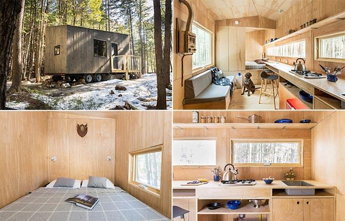 Getaway Tiny Cabins Interior