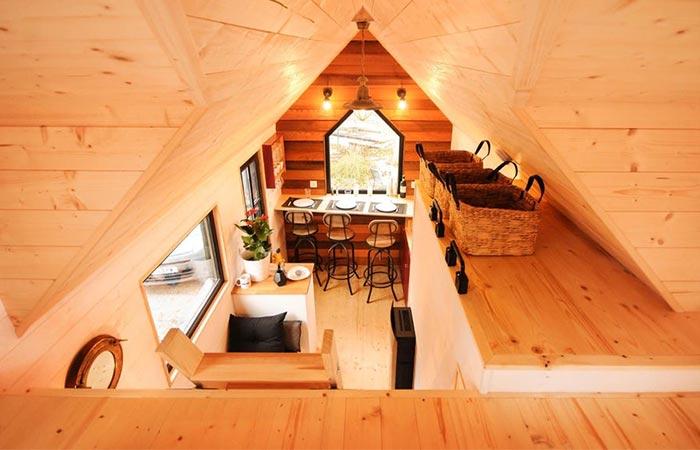 Calypso Tiny Home Interior