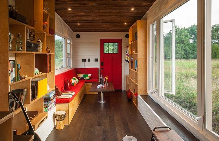 Greenmoxie Tiny Home Interior