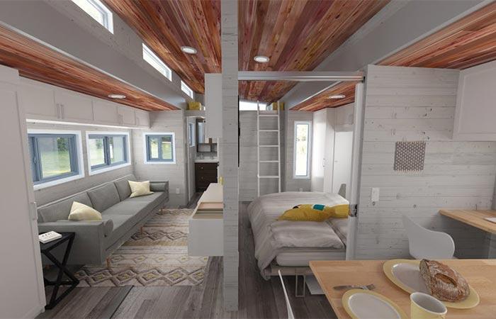 Aurora Tiny House Interior