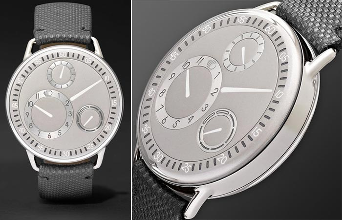 Two different views of the Ressence Type 1 CH