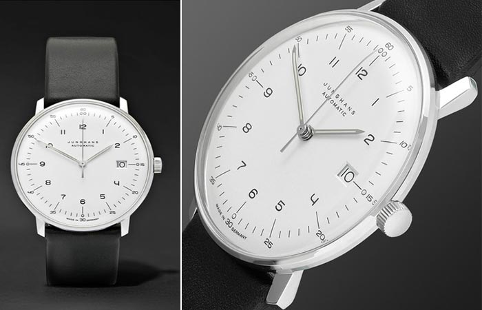 Two different views of the Junghans Max Bill Automatic